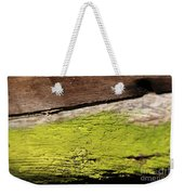 Abstract With Green Weekender Tote Bag
