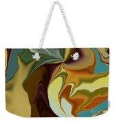 Abstract With Mood Weekender Tote Bag by Deborah Benoit