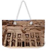 Abu Simbel Egypt 3 Weekender Tote Bag