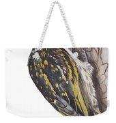 Acacia Pied Barbet Weekender Tote Bag