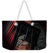 Accordionist Weekender Tote Bag by Michael Goyberg