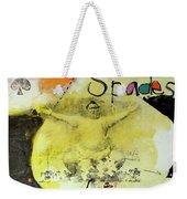 Ace Of Spades 25-52 Weekender Tote Bag by Cliff Spohn