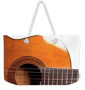 Acoustic Guitar 15 Weekender Tote Bag