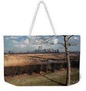 Across The River Weekender Tote Bag