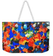 Acrylic Abstract Upon Wood Weekender Tote Bag