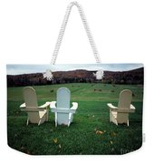 Adirondack Chairs Weekender Tote Bag