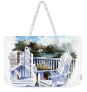 Adirondack Chairs Too Weekender Tote Bag