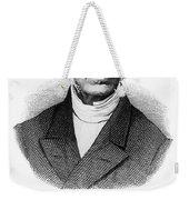 Adolphe Quetelet (1796-1874) Weekender Tote Bag