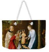 Adoration Of The Christ Child  Weekender Tote Bag
