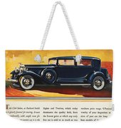 Ads: Packard, 1932 Weekender Tote Bag