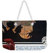 Ads: Phonograph, 1914 Weekender Tote Bag