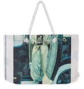 Advertisement Weekender Tote Bag
