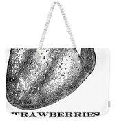 Advertisement: Strawberry Weekender Tote Bag