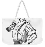 Advertisement: Suspenders Weekender Tote Bag