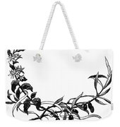 Advertising Art: Wreath Weekender Tote Bag