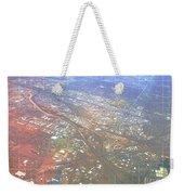 Aerial Graph Weekender Tote Bag
