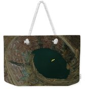 Aerial View Of An Ultralight Plane Weekender Tote Bag