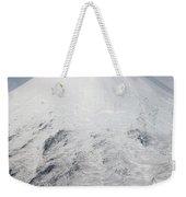 Aerial View Of Glaciated Shishaldin Weekender Tote Bag by Richard Roscoe