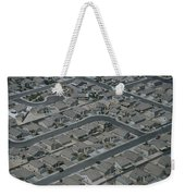 Aerial View Of Suburban Weekender Tote Bag