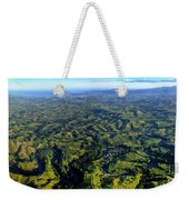 Aerial View Of The Nadi River Winding Weekender Tote Bag