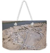 Aerial View Of Unknown Forward Weekender Tote Bag