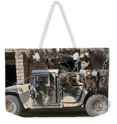 Afghan National Army Soldiers Prepare Weekender Tote Bag