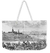 Africa: Benin City, 1686 Weekender Tote Bag