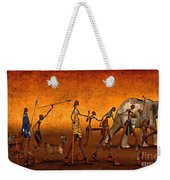 Africa Weekender Tote Bag by Jutta Maria Pusl