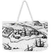 Africa: Portuguese Fort Weekender Tote Bag