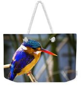 African Pigmy Kingfisher Weekender Tote Bag