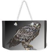 African Tawny Eagle Weekender Tote Bag