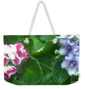 African Violets Intertwined I Weekender Tote Bag