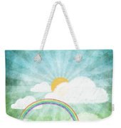 After Rainy Weekender Tote Bag