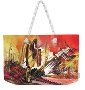 After The Earthquake Weekender Tote Bag