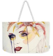 After The Show Watercolor On Paper Weekender Tote Bag