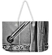 After The Shower - Bw Weekender Tote Bag