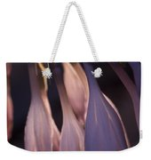 Afterglow Of Hosta Weekender Tote Bag