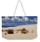 Afternoon At White Sands National Monument Weekender Tote Bag