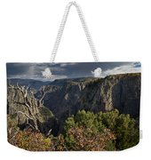 Afternoon Clouds Over Black Canyon Of The Gunnison Weekender Tote Bag