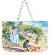 Afternoon On A Cretan Beach Weekender Tote Bag