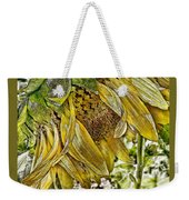 Afternoon Sunflower Weekender Tote Bag