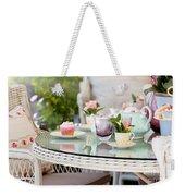 Afternoon Tea And Cakes Weekender Tote Bag
