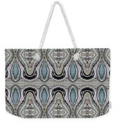 Agate-38e Border Tiled Weekender Tote Bag