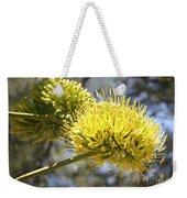 Agave Flowers Weekender Tote Bag