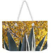 Agave Spikes In Autumn Weekender Tote Bag