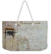 Aged Brick Wall With Character Weekender Tote Bag