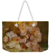 Aged Hydrangeas With Texture Weekender Tote Bag