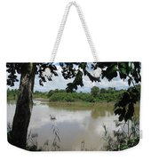 Agusan River Near Ja Pao Weekender Tote Bag