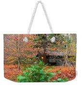 Ahwahnee Cabin Light Weekender Tote Bag