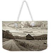 Ah...west Virginia Sepia Weekender Tote Bag